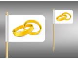 vlaječky žluté prstýnky